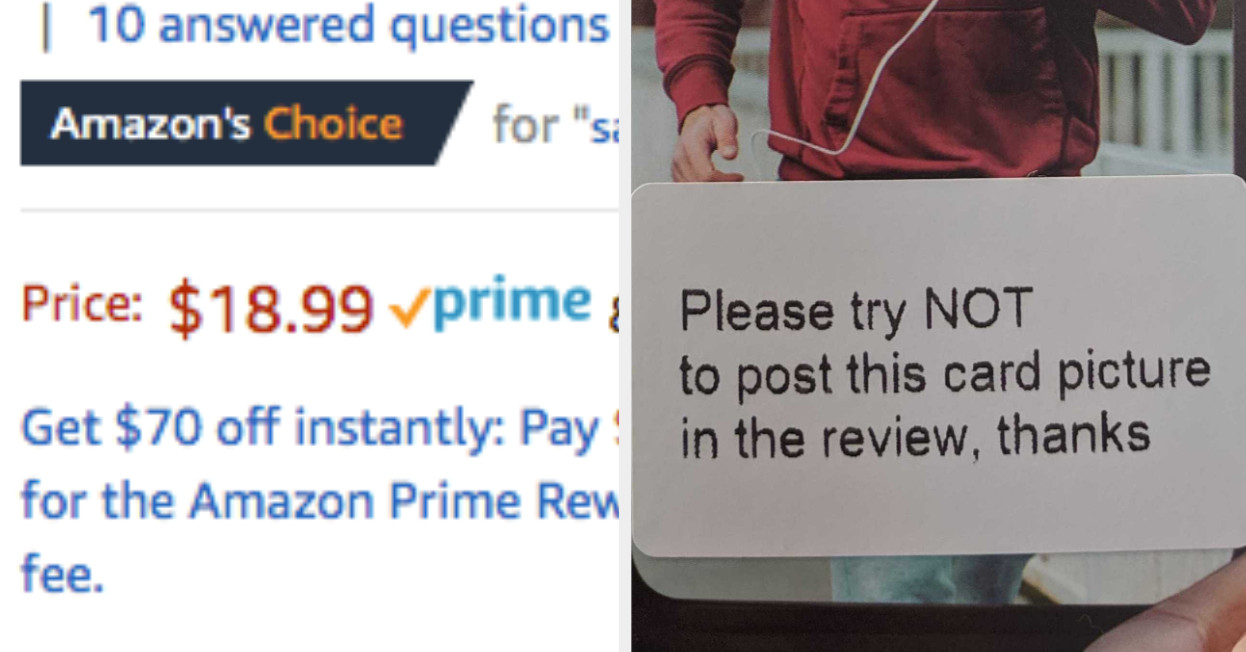"""Amazon Is Recommending Products With Reviews Written By Bribed Customers As """"Amazon's Choice"""""""