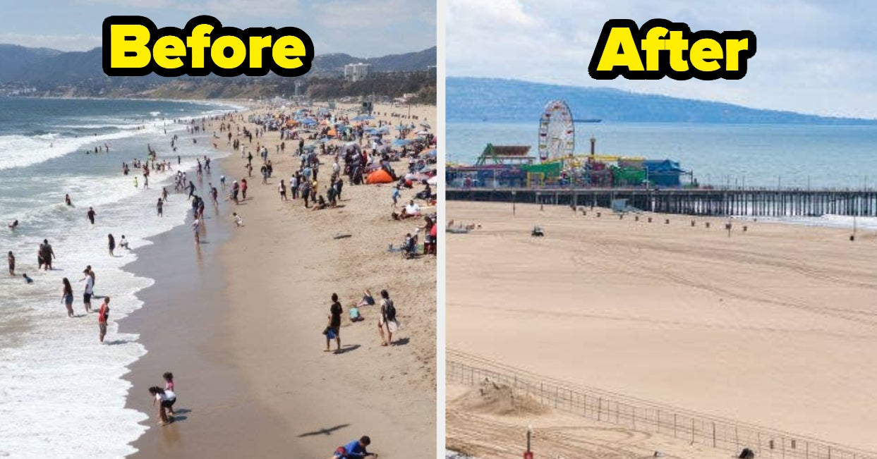 Los Angeles During The Coronavirus Pandemic: Before And After